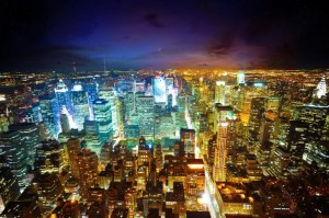 New-York-paysages-urbains-architecture-bâtiments-lumières-de-la-ville-485x728
