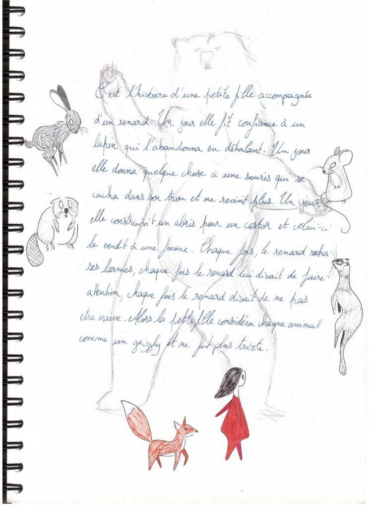 La fillette et le renard