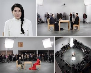 marina abramovic- The artist is present, 2010