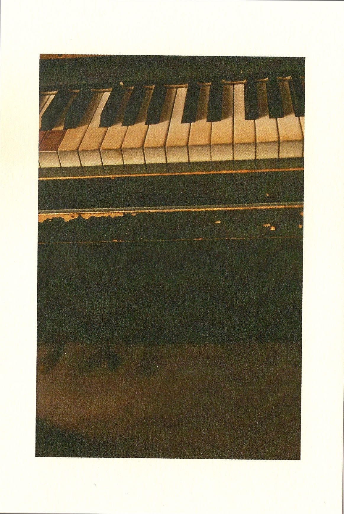 Yukari Matsuda, 2009, from limited copied post cards