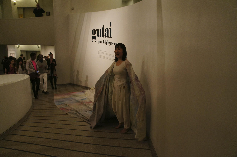 Miyuki Nishizawa, artiste in her master's work