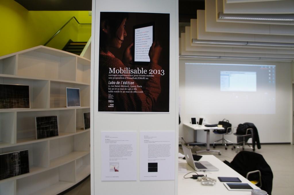 l'affiche de Mobilisable 2013 par JLB