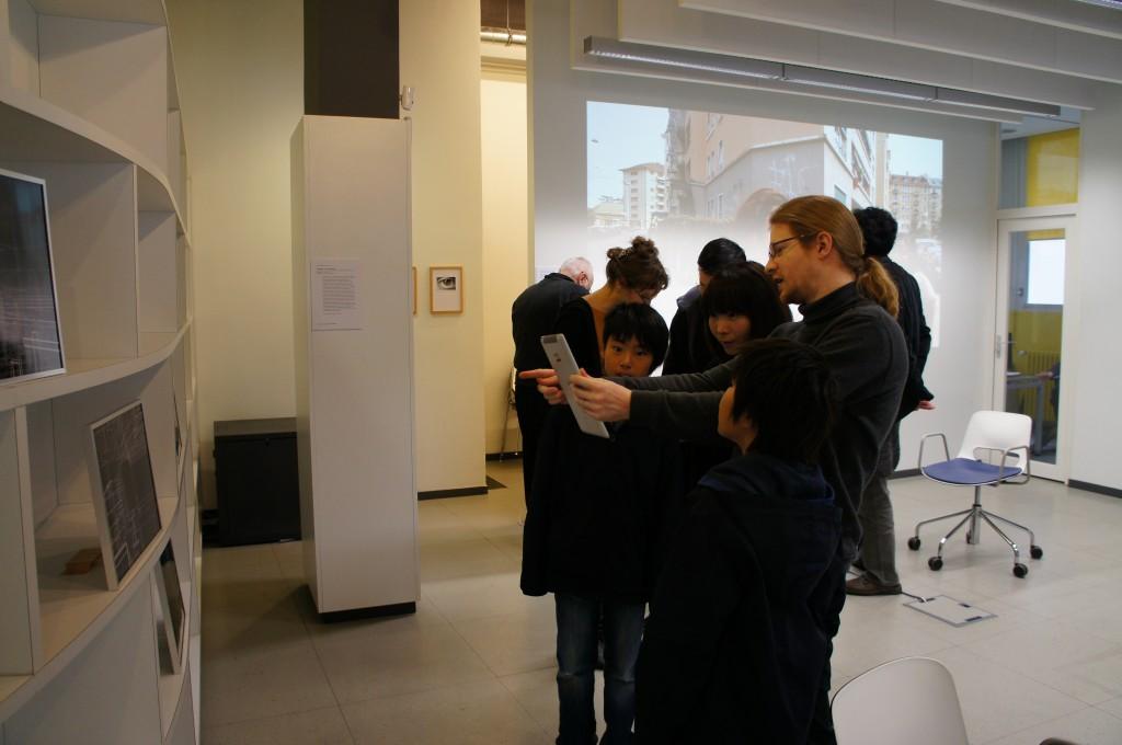 Dominique Cunin, réalité augmenté à partir du plan architecture du labo de l'édition