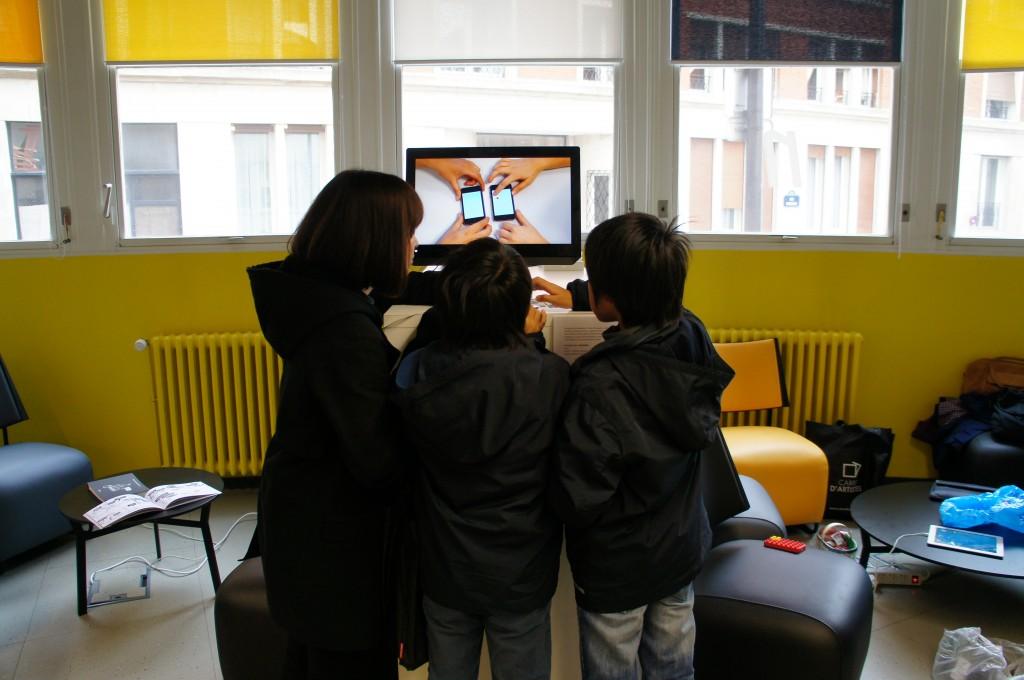 jeux interactifs pour l'écran mobile