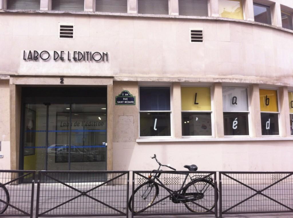 Labo de l'édition, le lieu de l'exposition
