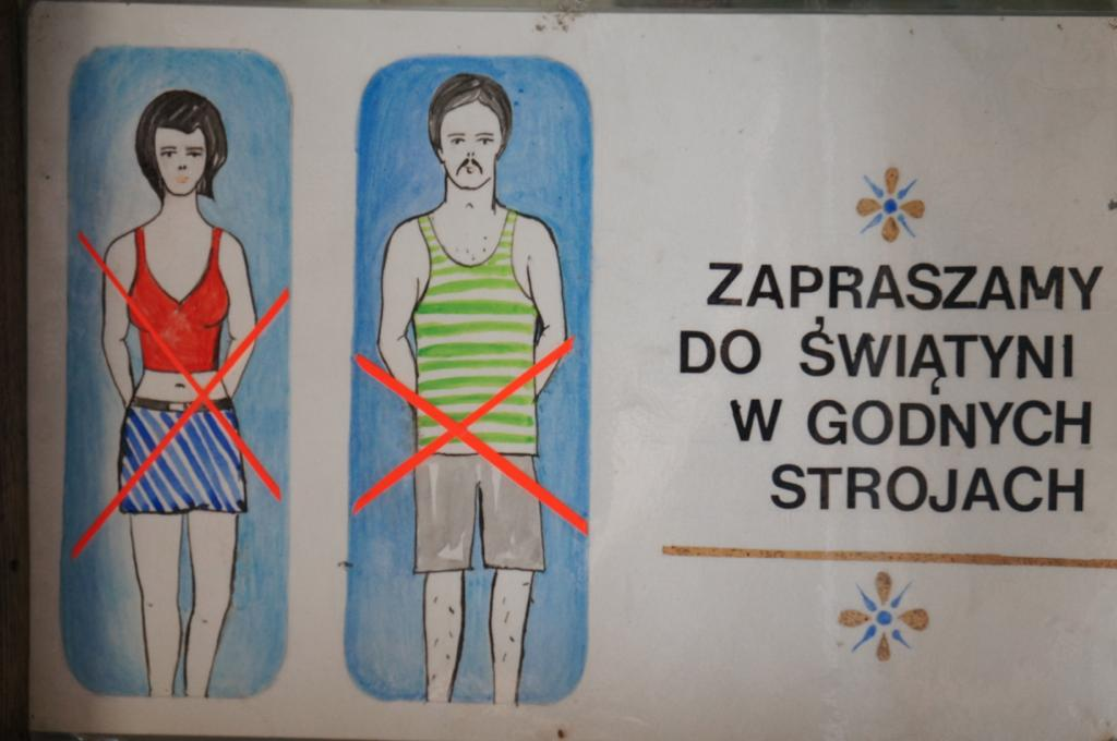 Dress code, Cerkiew św. Marii Magdaleny