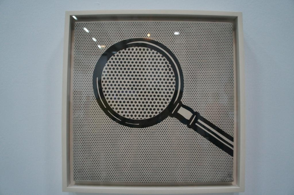 Magnifying Class, 1963 oil on canvas