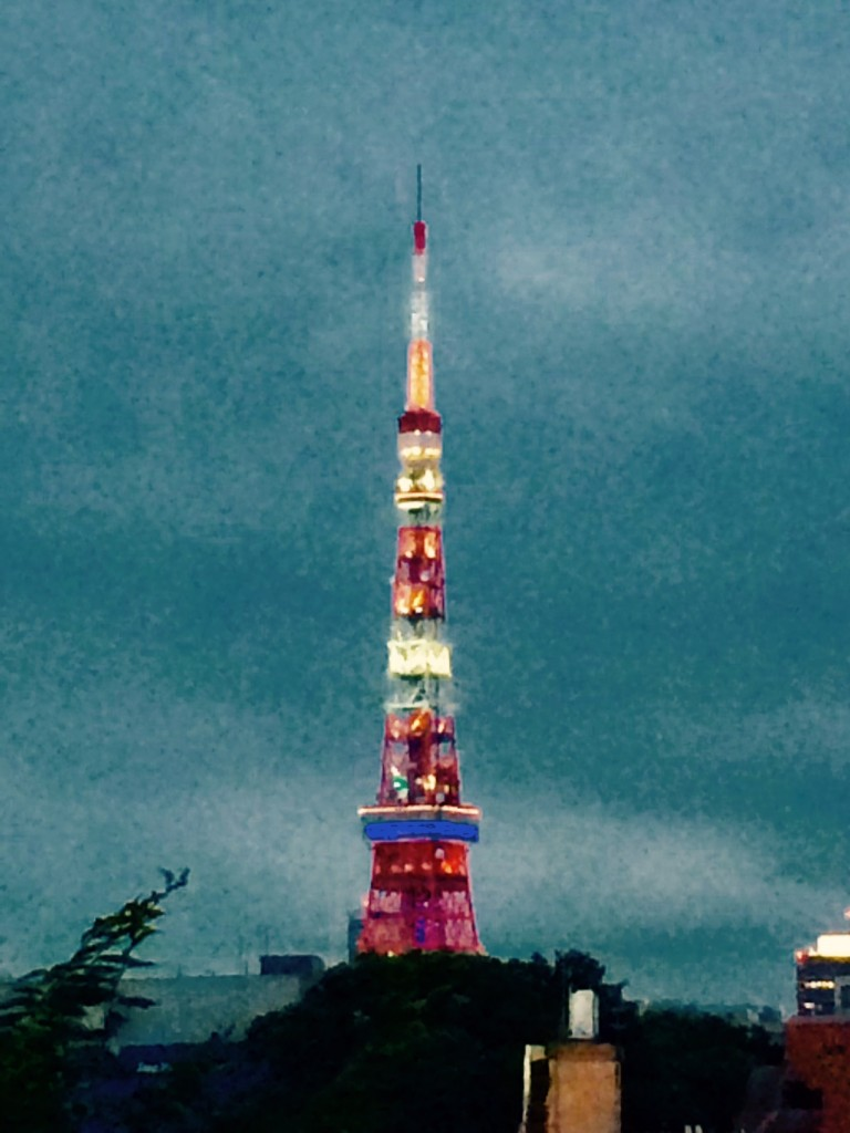 tokyo tower 2017